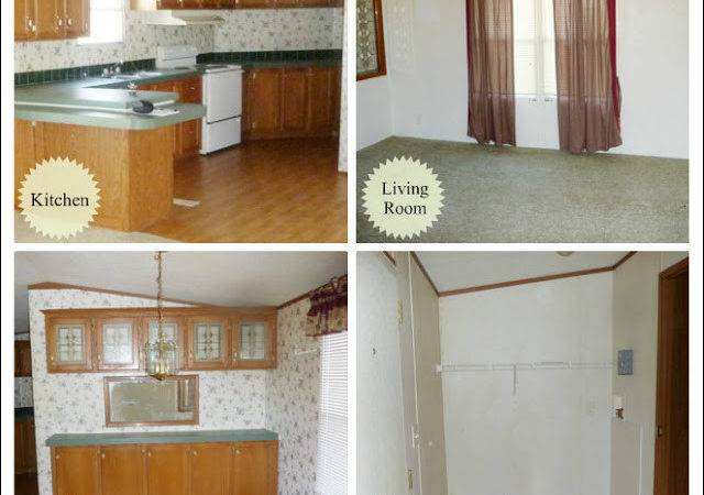 Mobile Home Remodel Before After House Furniture