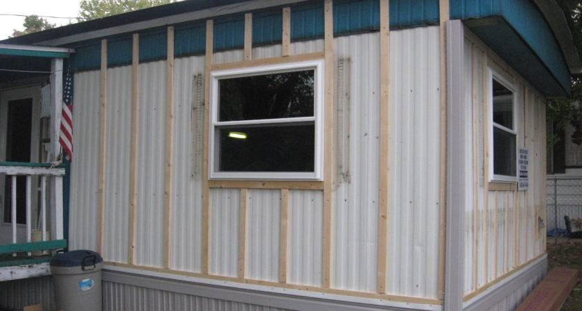 Mobile Home Siding Machose Contracting Allentown