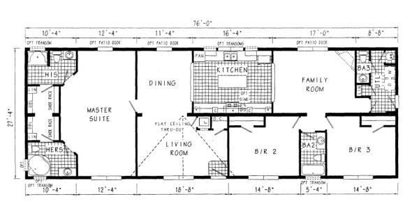 Mobile Home Sizes Design Ideas Residence Plans Floor
