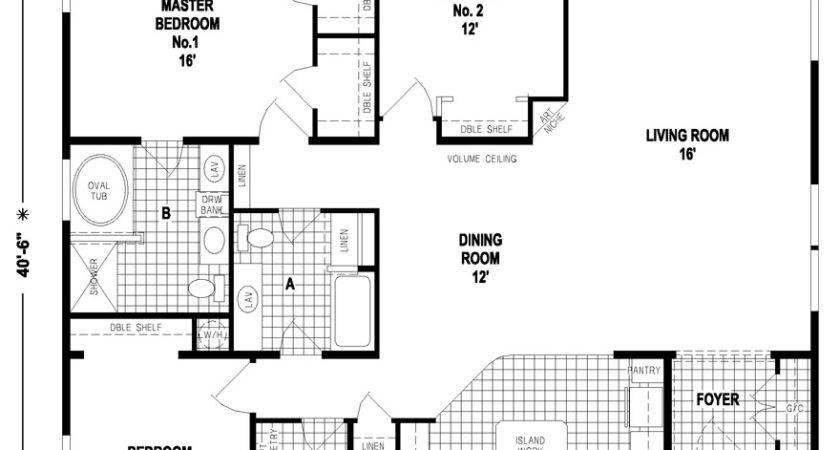 Mobile Homes Floor Plans Triple Wide
