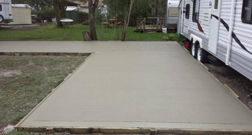 Mobile Park Pad Solid Concrete Solutions