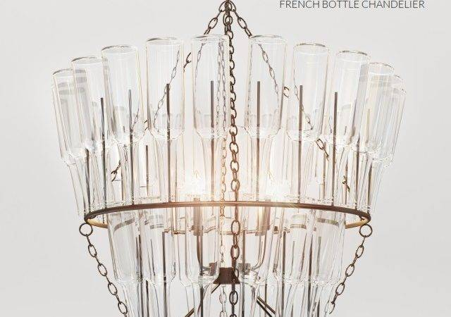 Models Ceiling Light Potterybarn French Bottle