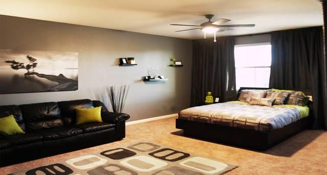 Modern Bachelor Room Bedroom Las Vegas
