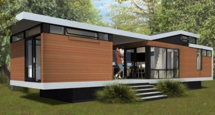 Modern Contemporary Mobile Homes Regarding Warm