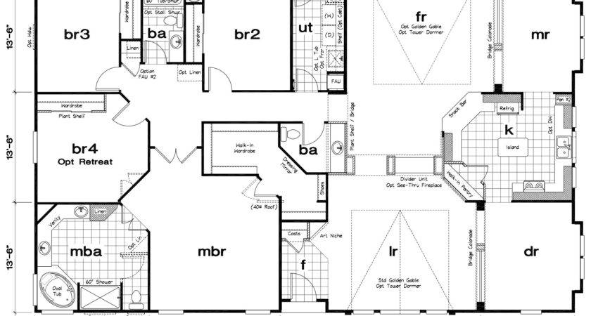 Modern Mobile Home Floor Plans Homes Ideas