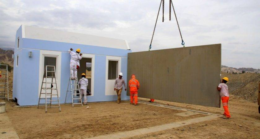 Modular Home Builder Concrete Homes Being