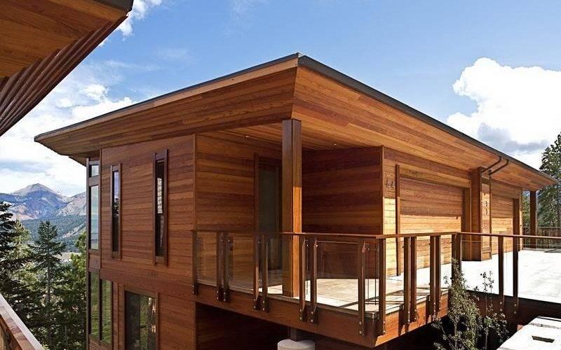 Modular Home Cedar Siding Homes