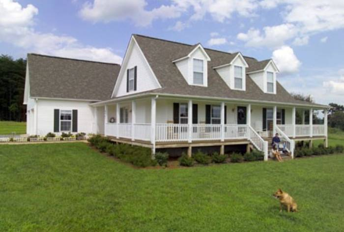 Modular Home Floor Plans Wrap Around Porch