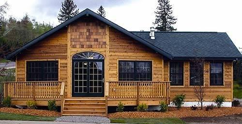 Modular Home Homes Wood Siding