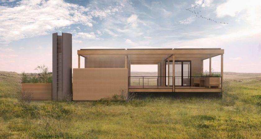 Modular Home Powered Rain Sunshine Ecobuilding