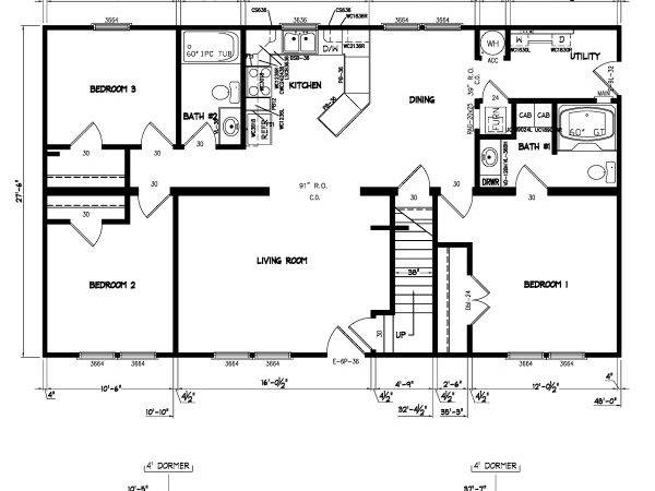 Modular Home Small Floor Plans