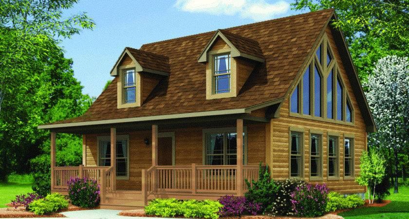 Modular Log Homes Cabin Mobile Bestofhouse