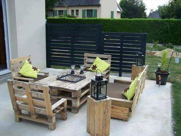 More Creative Than Patio Furniture Made Out