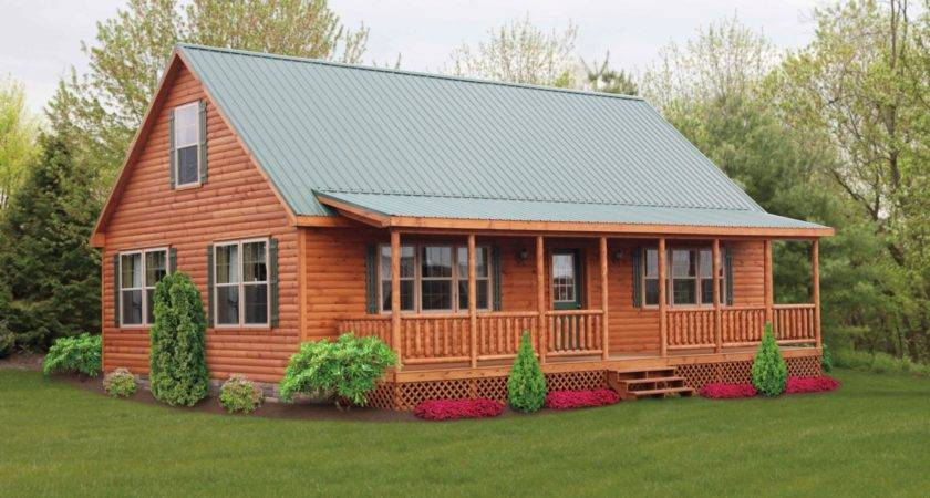 Mountaineer Log Cabins Manufactured Cozy