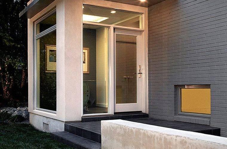 Mudroom Addition Exterior Contemporary Lawn Brown
