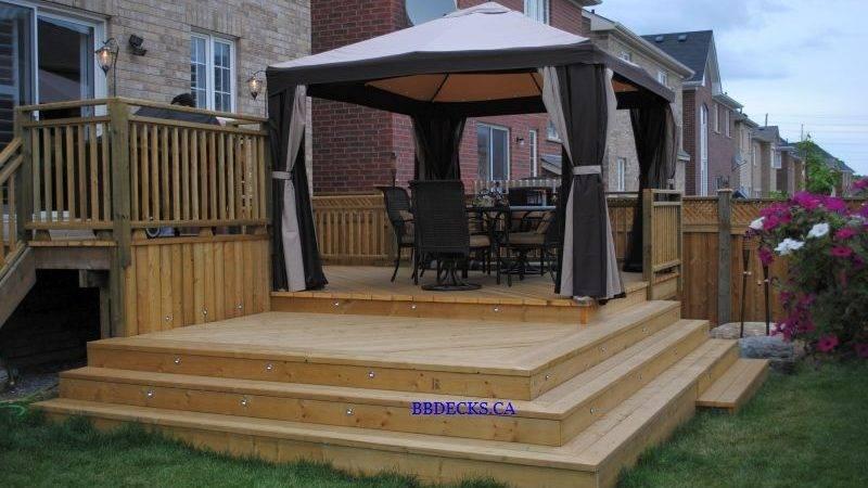 Multi Level Deck Designs Multilevel