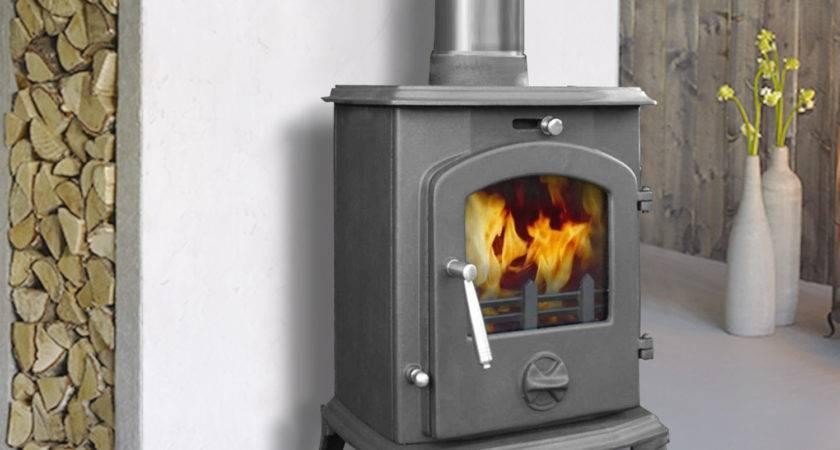 Multifuel Clean Burn Woodburners Cast Iron Log
