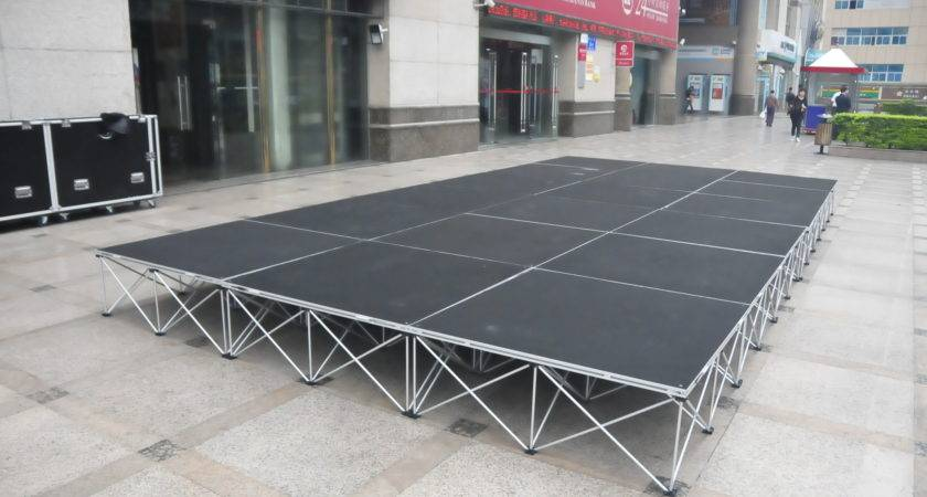 Music Concert Dancing Party Need Portable Stages