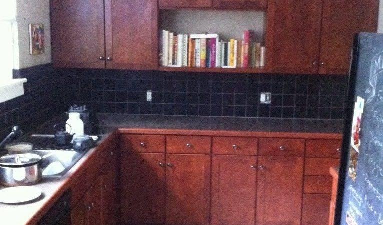 Mybluehaven Paint Your Tile Backsplash