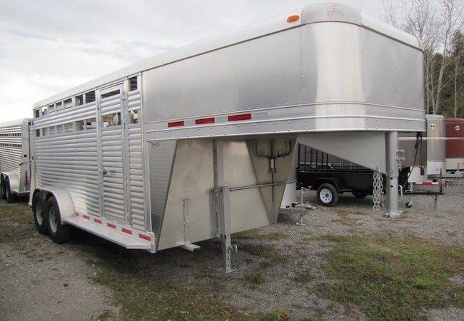 New Adams Trailers All Aluminum Trailer