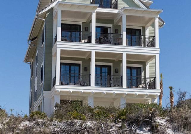 New Construction Beach House Coastal Interiors Home