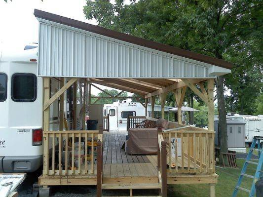 New Deck Camper Cooley Construction Campers