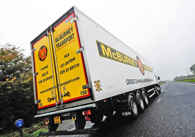 New Gray Adams Trailers North Ireland Fleet