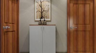New Home Interior Doors Shoe Cabinet