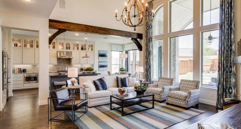 New Model Homes Open Canyon Falls Flower Mound