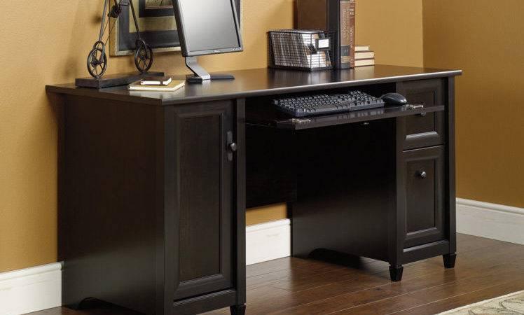 New Sauder Furniture Edge Water Home Office Black