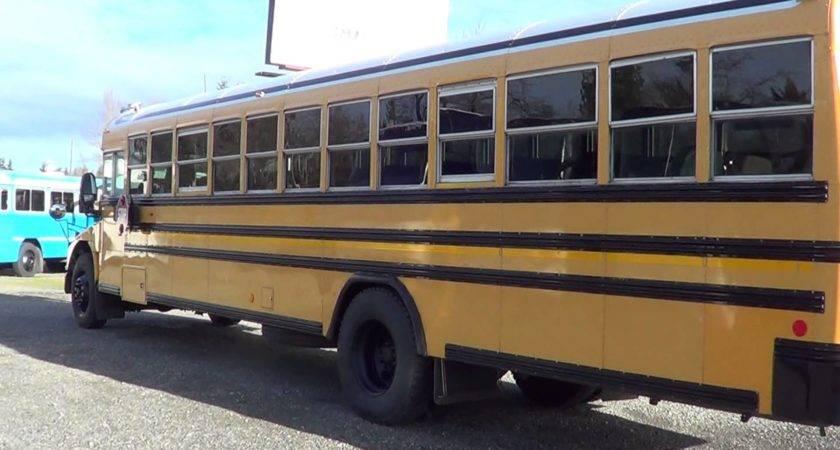 Northwest Bus Sales Blue Bird Row Vision School