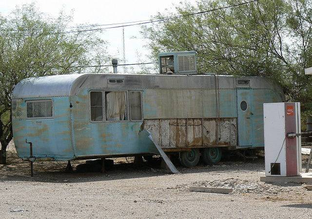 Old Mobile Home Bradley Cooper