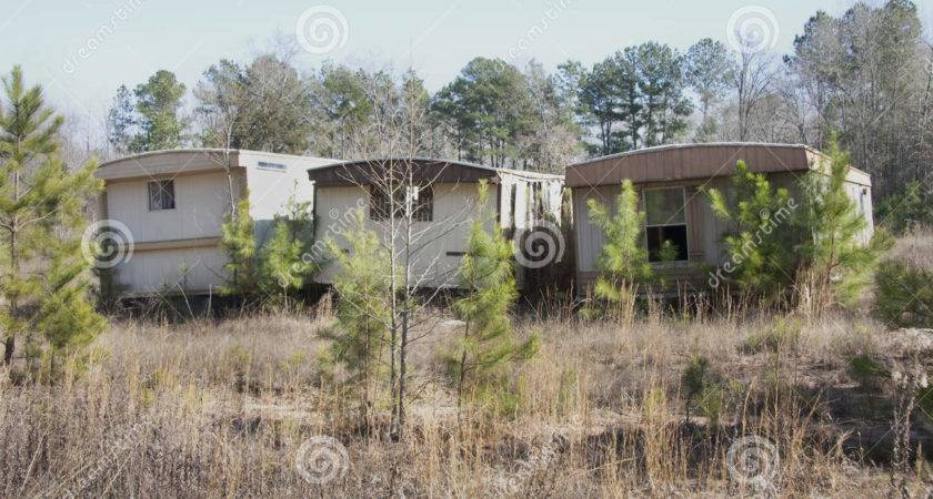Old Mobile Homes Trailer Photography