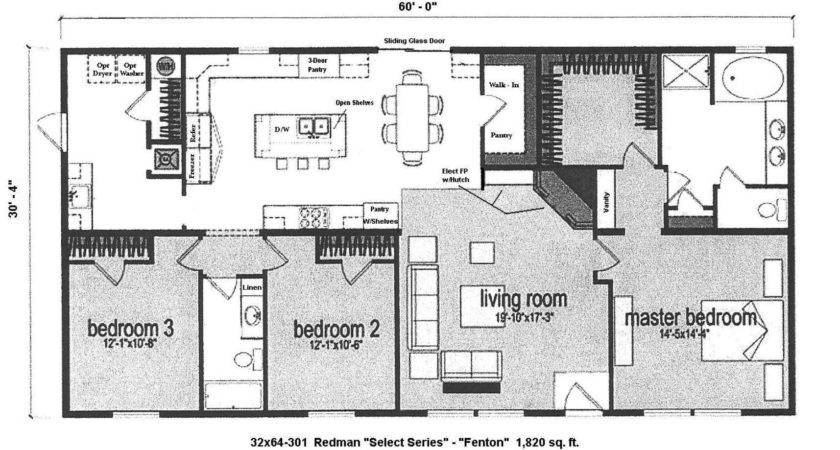 Open Floor Plans Mobile Homes