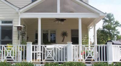 Open Porch Gable Roof