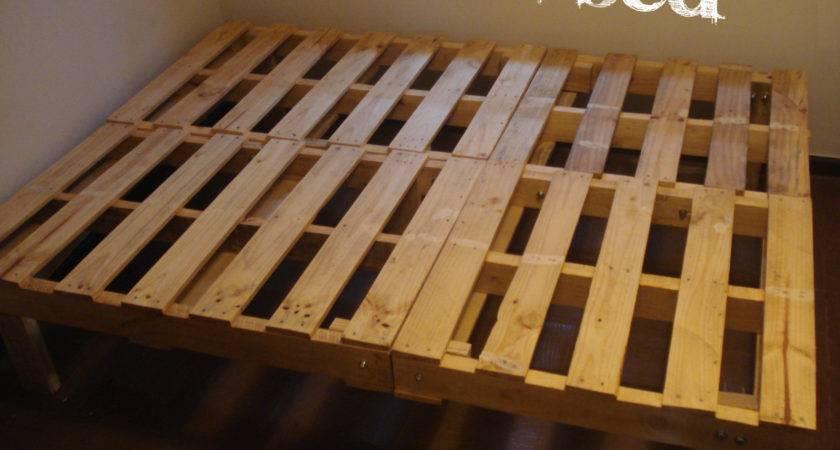 Our Diy Pallet Bed Santiagodiy