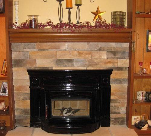 Our Old Fireplace Makeover Went Warm