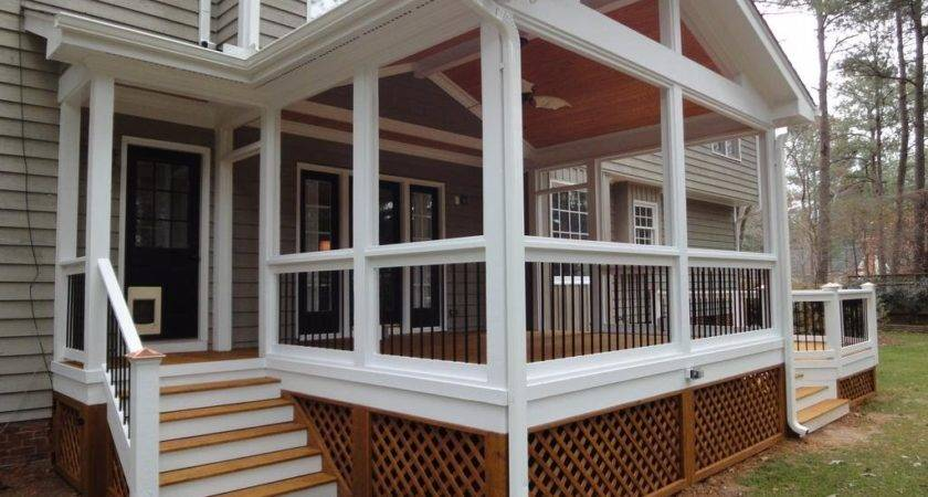 Outdoor Beautiful Back Porch Ideas Home Design