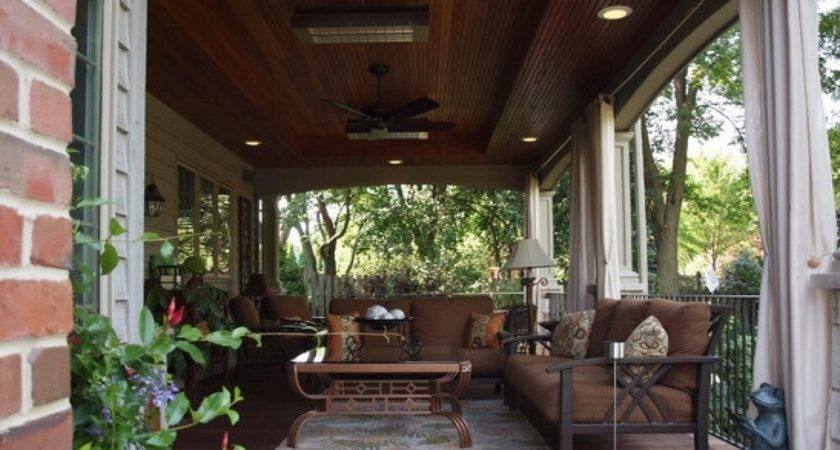 Outdoor Chic Back Porch Ideas Home Design
