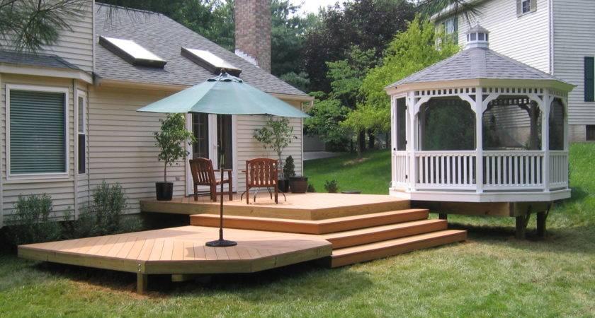 Outdoor Decks Patios Home Interior Design