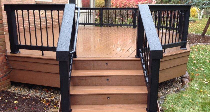 Outdoor Living Deck Designs Adding Flair