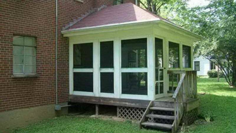 Outdoor Screened Porch Plans Ideas Simple