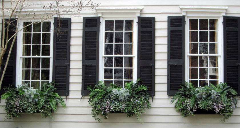 Outside Window Shutters Custom Exterior