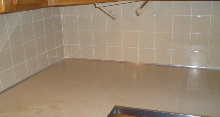 Paint Ceramic Tile Backsplash Countertop