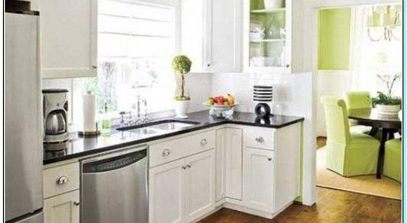 Paint Colors Small Kitchens White Cabinets