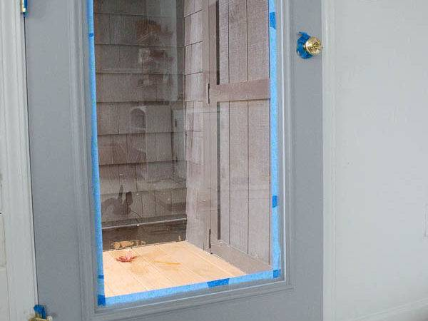 Paint Door Interior Makeover Four