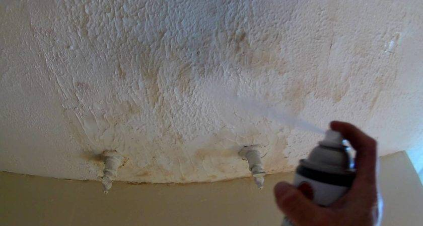 Paint Over Water Stains Ceiling Tiles Hbm Blog