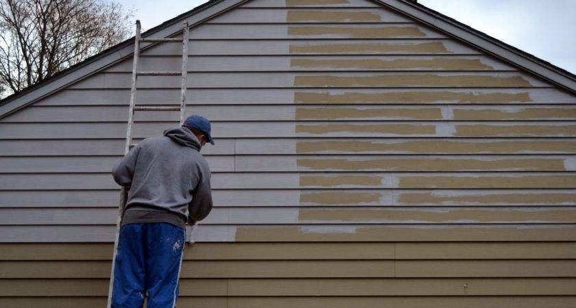 Paint Steel Siding House