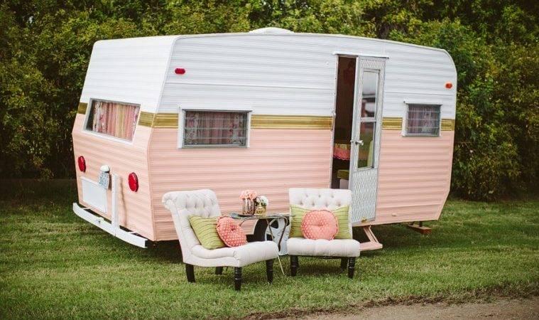 Paint Vintage Camper Home Design Garden