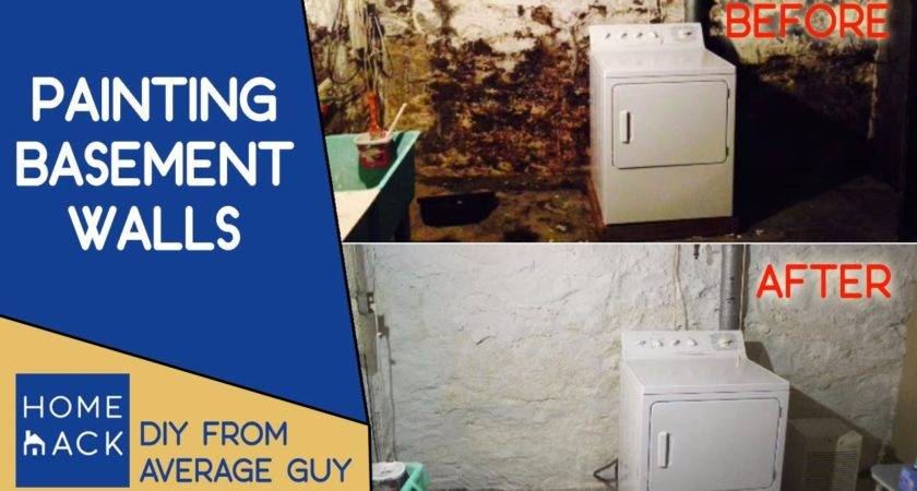 Painting Basement Stone Walls Normal Guy Paints Cellar